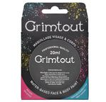 GRIM'TOUT Black, blister 20ml pot