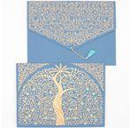 PAPERTREE GAIA Enveloppe  17*23 cm A5 Bleu roi
