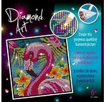 Diamond Art - Flamingo
