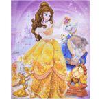 DISNEY La Belle & la Bête tableau à diamanter 40x50cm Crystal Art
