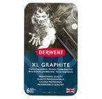 Derwent XL Graphite tin of 6