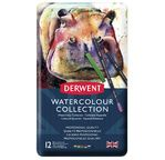 Derwent Watercolour Collection tin of 12