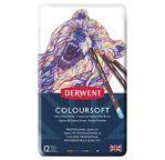 Derwent Coloursoft tin of 12