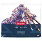 Derwent Coloursoft tin of 24