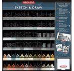 Derwent Sketch & Draw 72 Stock Pack