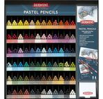 DERWENT - CRAYON PASTEL - gamme complète 72 crayons à l'unité 1x6x72