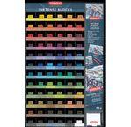 DERWENT - INKTENSE - gamme complète 72 carrés à l'unité (1x6x72)