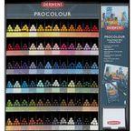 DERWENT - PROCOLOUR - gamme complète 72 crayons à l'unité (1x6x72)
