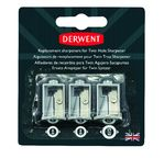 Derwent Replacement Sharpeners Battery Operated Twin Hole Sharpener