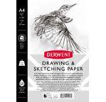 Derwent A4 Sketch Pad Portrait - 165 gsm 30 shts