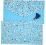 PAPERTREE DOUCHKA Gift envelope 19x10 cm Sky/Dark blue