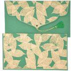 PAPERTREE TAMARA Gift envelope Green