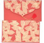 PAPERTREE TAMARA Gift envelope 19x10cm Red