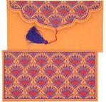 PAPERTREE BENGALI enveloppe cadeau19x 10 cm Soleil