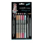 "Set COPIC CIAO ""5+1"" 5 couleurs Manga 7 + 1 Multiliner"