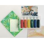MARBLING set, 6 couleurs pour marbrure, 12cc