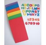 Blister de 140 lettres + 120 Chiffres 1,5 cm en mousse