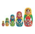 BABOUSHKA - Poupées Russes à Peindre