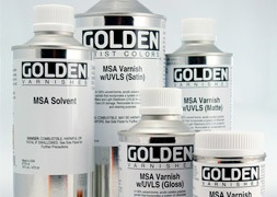 GOLDEN Vernis & adjuvants