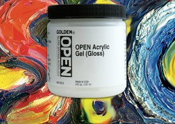 GOLDEN Open Gels & mediums