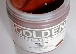 GOLDEN Acrylique Extra fine matte