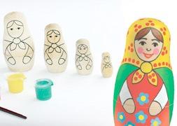 Kits à peindre Matrioshka