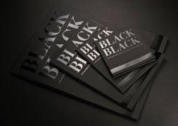 Papier Dessin - Black Black