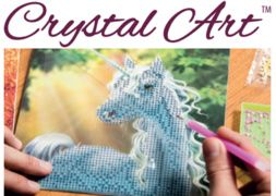 Broderie diamant Crystal Art