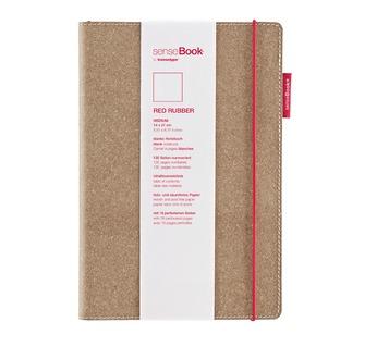 senseBook Red Rubber L kariert