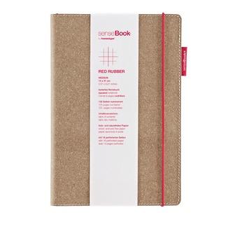 senseBook Red Rubber L liniert