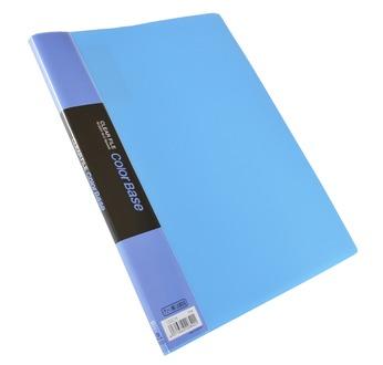CLEAR FILE colour BASE A4  BLEU, 10 pochettes