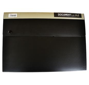 DOCUMENT trieur 13 poches A4 - Noir