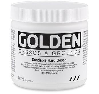Sandable Hard Gesso 473 ml