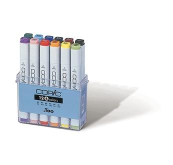 Set COPIC MARKER - 12 couleurs