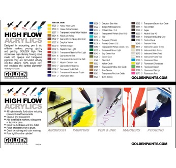 HIGH FLOW Flyer booklet