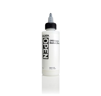 GOLDEN 119 ml Open Acrylic Medium (gloss)