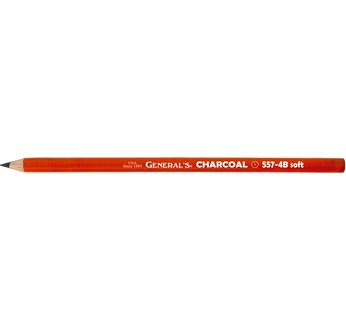 Crayon fusain noir 4B