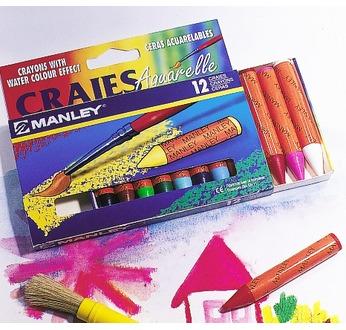 manley gros crayons cire set de12 clrs pastels la cire oz international mat riel et. Black Bedroom Furniture Sets. Home Design Ideas