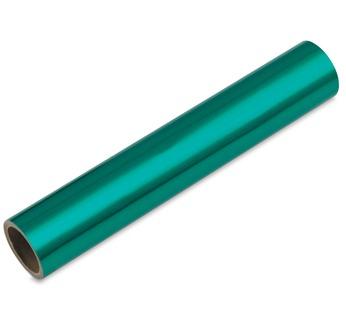 Feuille Alu. teinté Vert 1,5 m