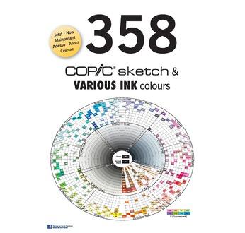 Brochure COPIC A4 358 couleurs