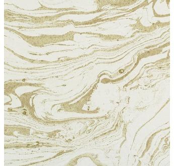 Papertree 50x70 GOLD Marbled paper Kaki