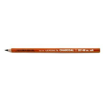 Crayon fusain noir 6B