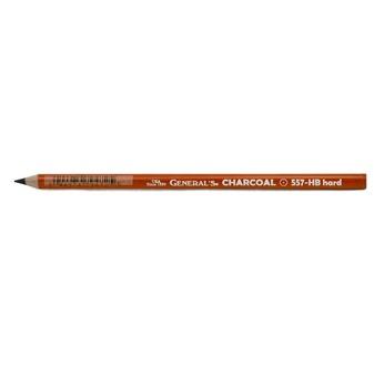 Crayon fusain noir HB