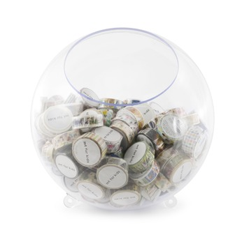 mt transparent ball display