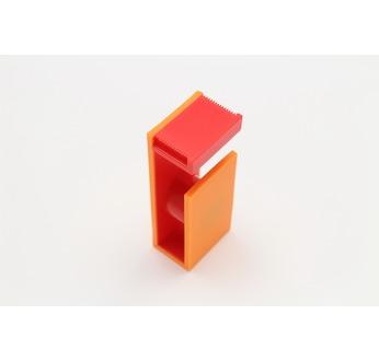 Dérouleur magnétique pour MT, coloris orange & rouge
