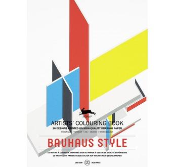 PEPIN Livre à colorier pour artiste 25x34,5cm Style Bauhaus pp 12,95€