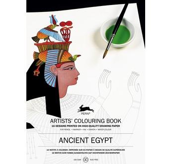 PEPIN Livre à colorier pour artiste 25x34,5cm Egypte pp 12,95€