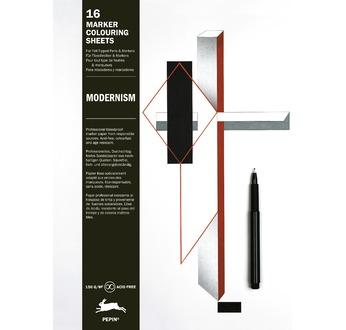 PEPIN Bloc pré-dessiné pour marqueurs Moderne pp14,95€