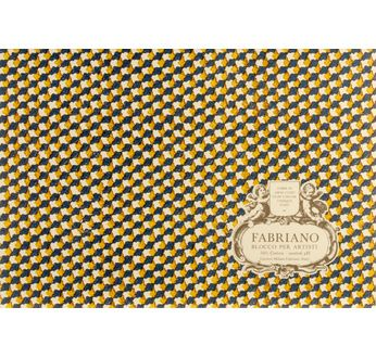 FABRIANO BLOC PER ARTISTI 12,5x18-300g-20feuilles-grain fin