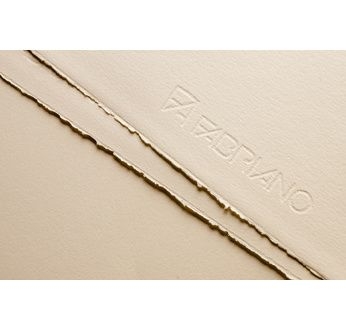 FABRIANO ROSASPINA-Feuille 70x100-285 gsm-ivoire ancien